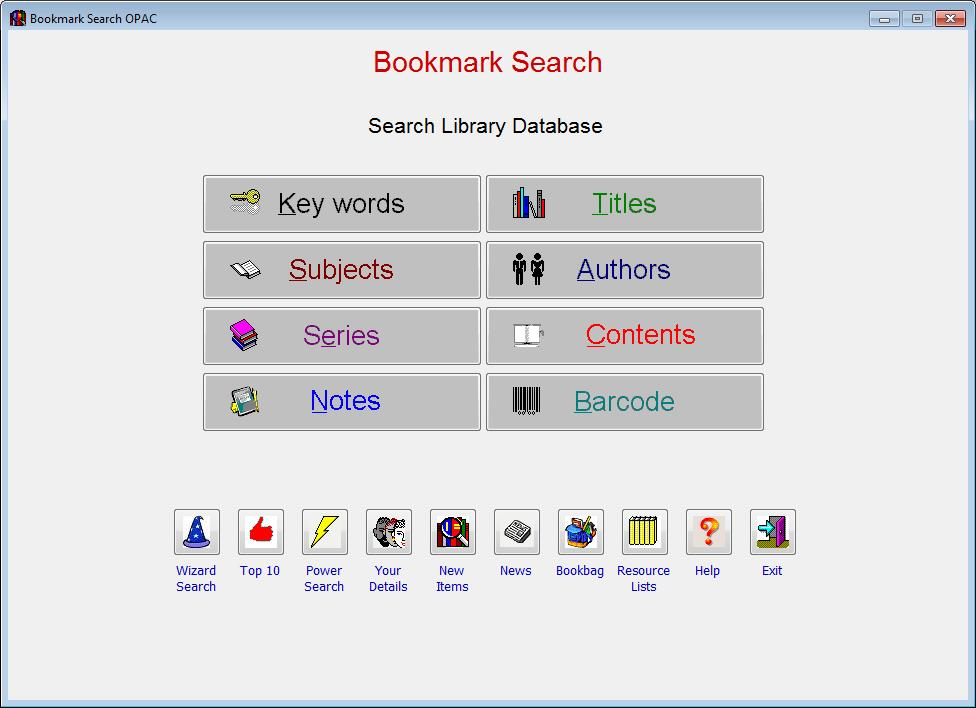 library barcode system